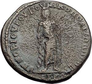 ELAGABALUS-218AD-Nicopolis-Ad-Istrum-ASCLPIUS-MEDICINE-GOD-Roman-Coin-i57897