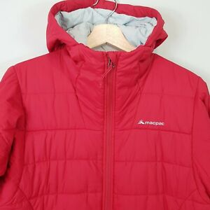MACPAC-Womens-Red-Southerly-Hooded-Jacket-Size-AU-14-or-US-10