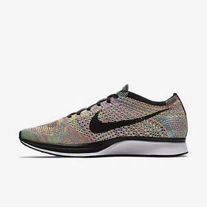 7bd7003c9fbf Nike Flyknit Racer Multi Color Rainbow 2016 Grey Tongue 526628 004 8 ...