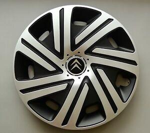 16-034-Citroen-C4-C5-etc-Wheel-Trims-Covers-Hub-Caps-Quantity-4