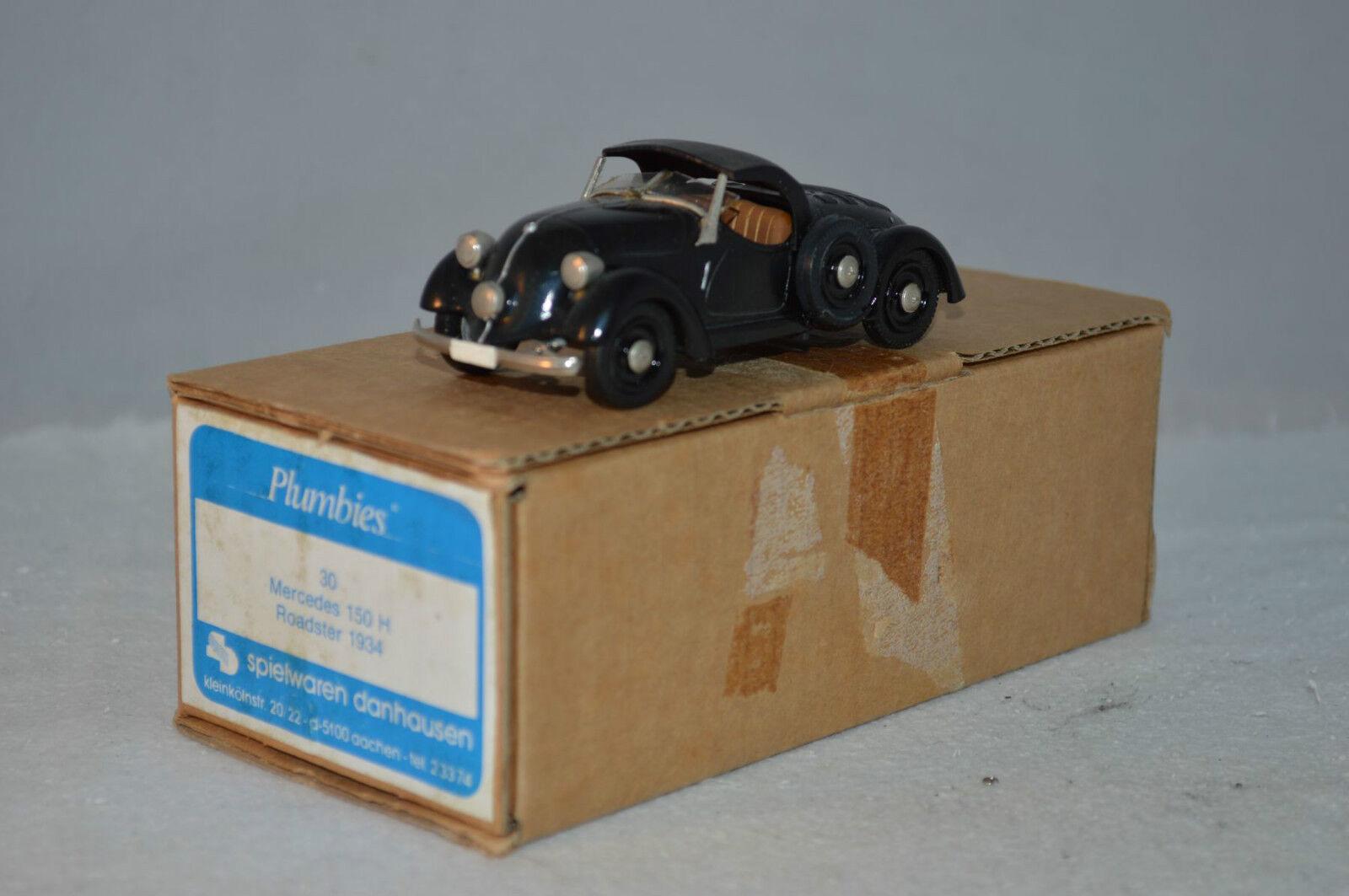 disfrutando de sus compras Western Models Plumbies, Mercedes-Benz 150 H Roadster 1934 1934 1934 1 43 mint in box  envío gratis
