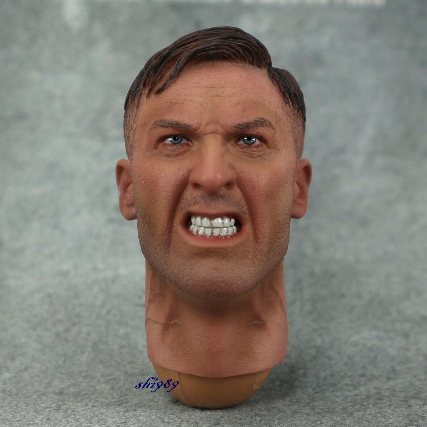 DID D80131 D80131 D80131 WWII German Panzer Divison Reich Mg42 Gunner B 1 6 Scale Head Sculpt 8af8d7