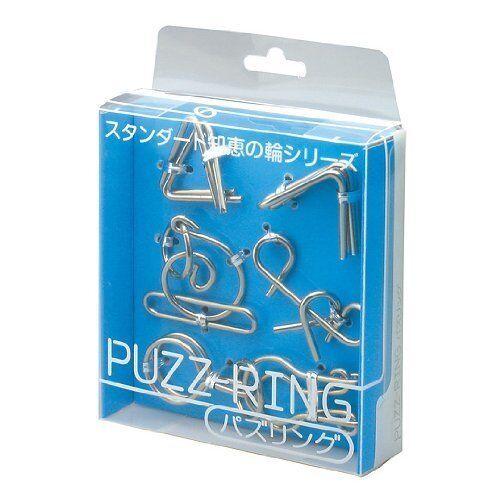 Hanayama Puzzle Puzz Ring BLUE