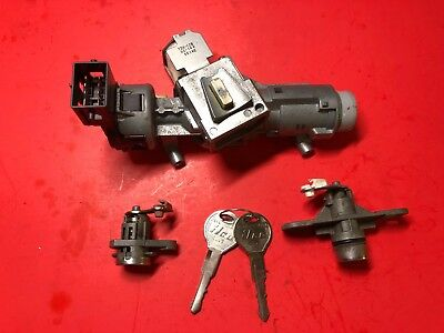 2001-2004 FORD ESCAPE IGNITION LOCK CYLINDER ASSEMBLY COMPLETE W KEYS USED OEM!