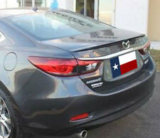 Mazda 6 2014+ Lip Style Rear Spoiler primer ready to paint Made in the USA