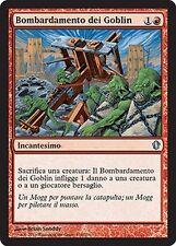 Bombardamento dei Goblin - Goblin Bombardment MTG MAGIC C13 Commander 2013 Ita