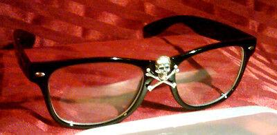 "RICK /""WILD THING/"" VAUGHN T-Shirt w// Skull /& Bones Glasses MAJOR LEAGUE MOVIE"