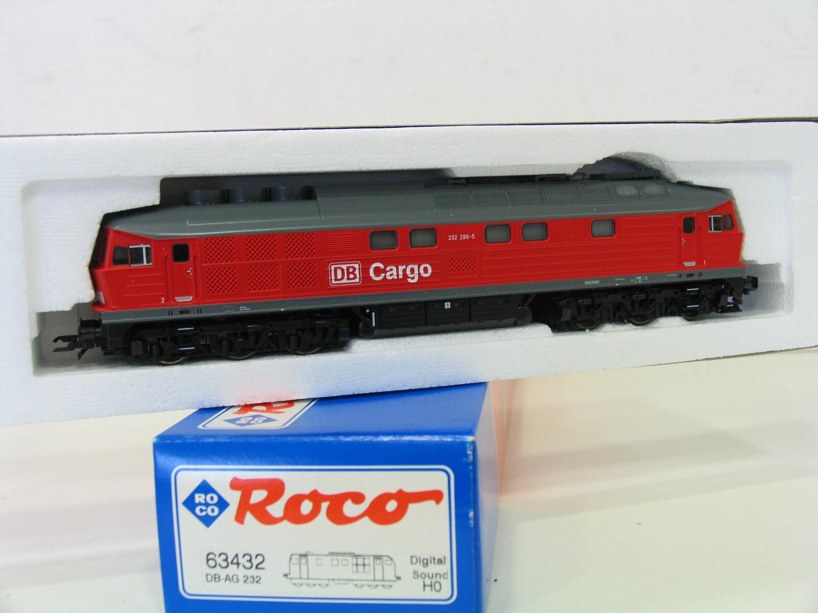 Roco 63432 diesellok br 232 de la DB Cochego Digital Sound wp301