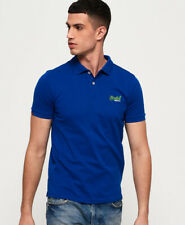 Superdry Mens Mercerised Lite City Polo Shirt