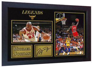 los angeles 05a0f e502a Image is loading Michael-Jordan-NBA-signed-autograph-Basketball-Memorabilia -Chicago-