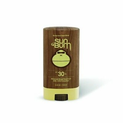 Sun Bum Face Stick Broad Spectrum SPF 30 Sunscreen 13g/0.45oz Brand New