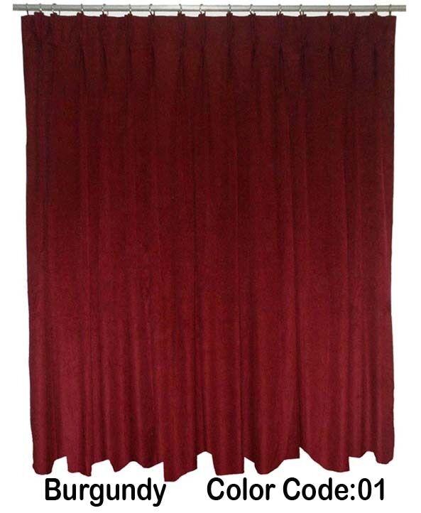 Saaria pellizco Plisado Cortinas Decoración del hogar teatro y telones de fondo escenario 22'W X 10'H