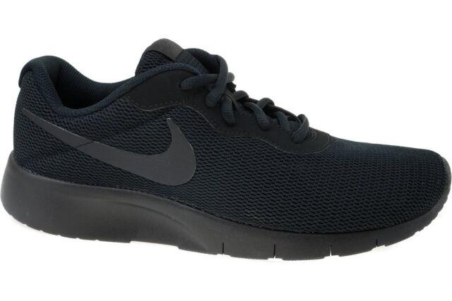 ebc446b854b0 Nike Kids Tanjun GS Mesh Running Shoes Big Kid s Size 5 Black for ...