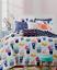 Martha-Stewart-Whim-Quilted-Flowerbed-Blue-Cotton-Standard-Pillow-Sham thumbnail 5