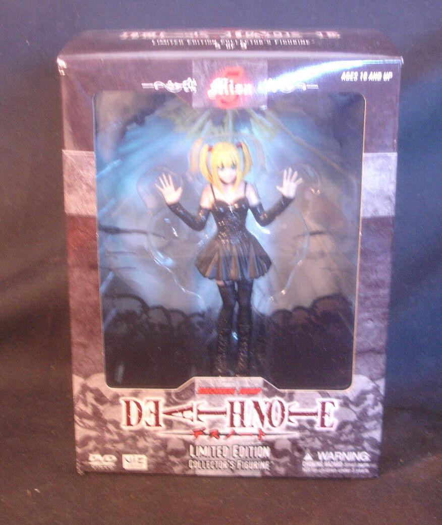 Death Note Misa Shonen Jump Limited Edition Collector's Collector's Collector's Figure Figurine In Box e1688d