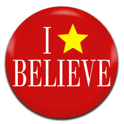 1 Inch D Pin Button Badge I Believe Miracle On 34th Street Christmas 25mm