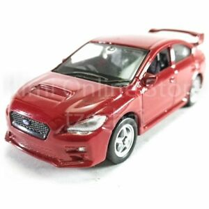 Welly-1-60-Die-cast-2015-Subaru-WRX-STI-Car-Red-Color-Model-Collection-New-Gift