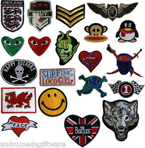 Hot-Fix-Iron-on-Patches-20-designs-Free-UK-P-amp-P