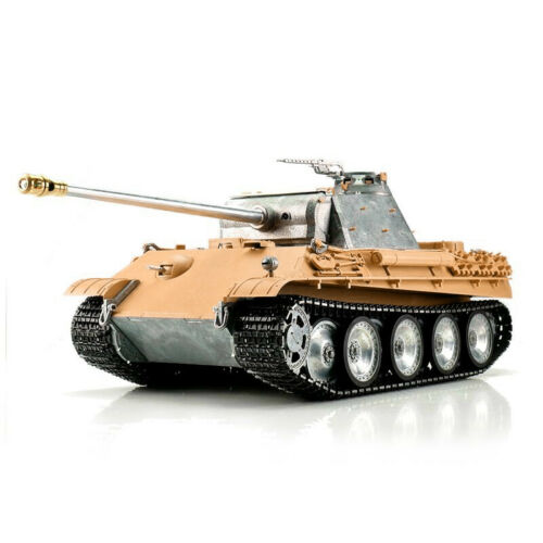 116 Torro German Panther Ausf G RC Tank 2.4GHz Infrared Metal Edition Unpainted