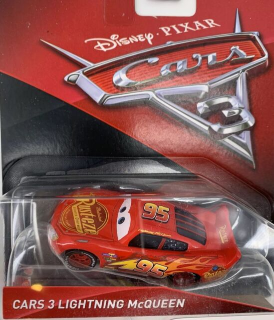 Disney Pixar Fdc12 Cars 3 Fabulous Blue Lightning Mcqueen Vehicle