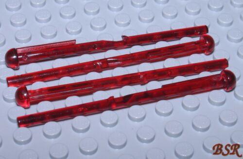 4 Stück Munition in transp rote Shooter Geschoß 15303 Pfeil 8M /& NEU ! SB04