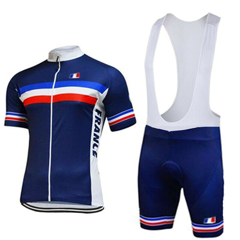 FRANCE FRENCH Cycling Jersey Bib Short Set