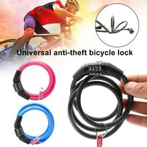 HB Universal Anti-Theft 4 Digits Combination Bike Bicycle Safety Code Password