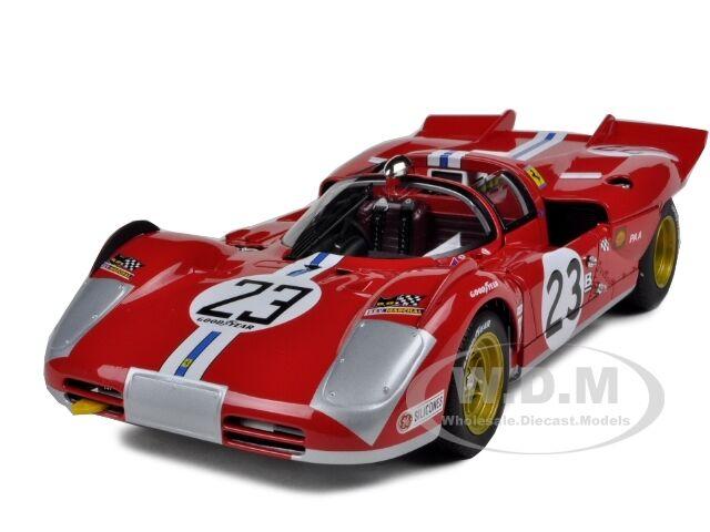 Ferrari 512 s elite   23 daytona 1971 b.adamovicz 1,18 modell auto hotwheels t6930