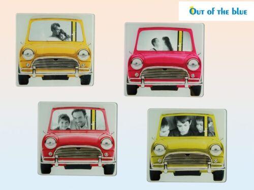 Mini verre cuivre cadre photo cadre fenêtre avant voiture auto 6 x 10 cm NEUF