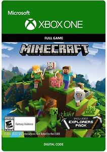 Minecraft-Xbox-One-Full-Game-Explorer-039-s-Pack-Add-on-presque-DISPATCH