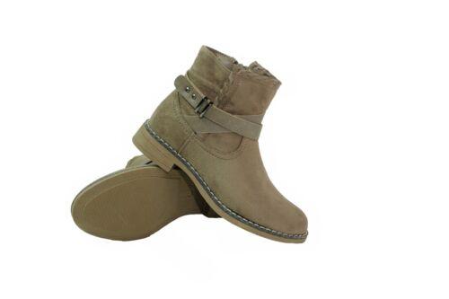 Enfants Filles Bottines Chaussures Bottes