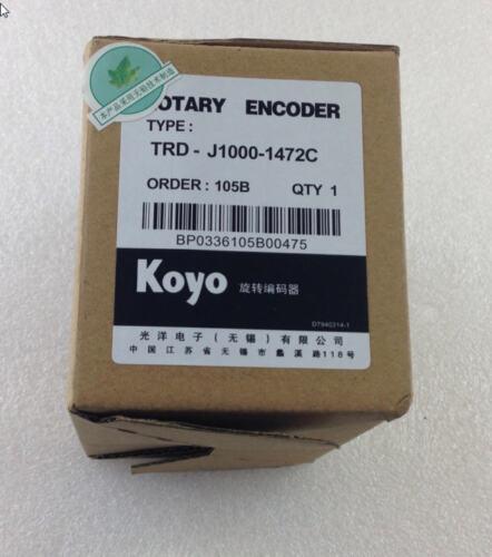 Un nouveau KOYO TRD-J1000-1472C