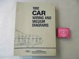 1992    FORD    CAR MUSTANG THUNDERBIRD    CROWN       VICTORIA       VACUUM