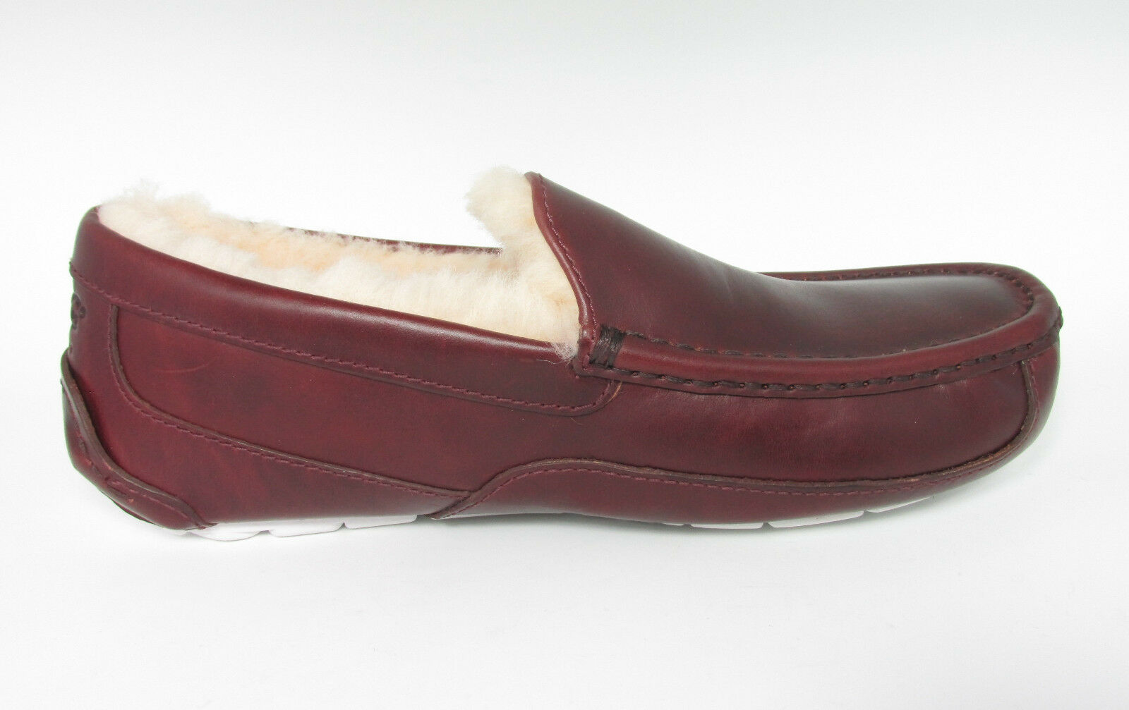 Men UGG Australia SLIPPER Ascot Cordovan Leather 1009459 Original 11 | eBay