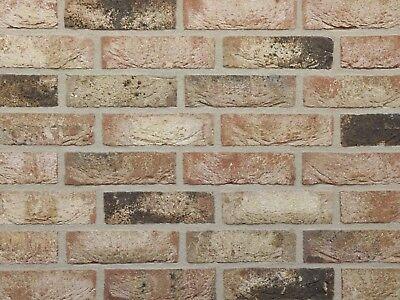 Heimwerker Retro-feldbrandsteine Nf Bh763 Rot-bunt Handform-klinker Vormauerverblender Feine Verarbeitung Fassade