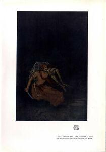 Raja-Vikram-and-the-Vampire-by-Nada-l-Bose-Modern-India-Painting-Kunstdruck-1908