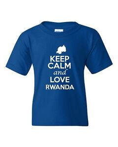 Keep Calm And Love Liberia Country Patriotic Novelty Youth Kids T-Shirt Tee