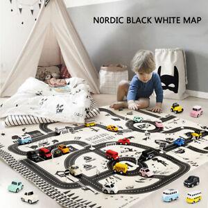 Portable-Car-City-Scene-Taffic-Highway-Map-Play-Mat-Children-Game-Road-C-NTAT