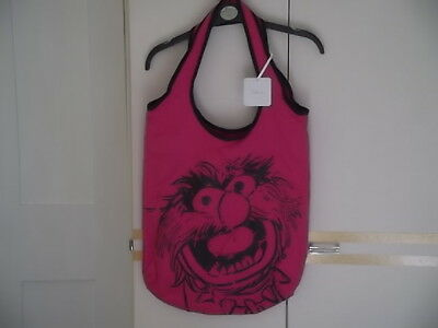 PINK DISNEY ANIMAL PRINT TOTE BAG : Approx size 45cm x 40cm : NEW WITH TAGS