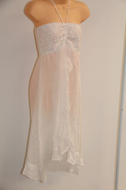 f4268709ef Buy Raviya White Plus Size Crochet Swimsuit Cover-up Dress 2x online ...