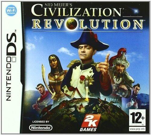 Sid Meier's Civilization: Revolution [nintendo DS DSi, stratégie de la diplomatie Guerre]