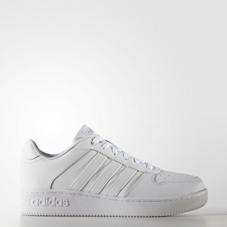 MEN'S ADIDAS AQ1289 NEO TEAM COURT chaussures OUTLET blanc SZ US M 11 UK 10.5