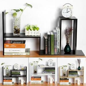 Sturdy-Board-Table-Desktop-Storage-Rack-Display-Shelf-Organizer-Counter-Bookcase