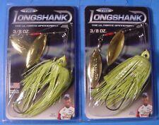 "2 /""THE LONGSHANK/"" 3//8 oz Spinnerbait Chartreuse DWGG-019 Guy Eaker Collectors"