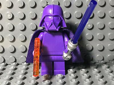 LEGO Star Wars Prototype Rare Darth Vader Minifigure Purple