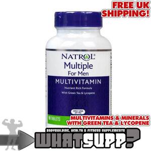NATROL Multiple Multivitamin For Men 90 tablets Vitamin A B C D E K + Minerals