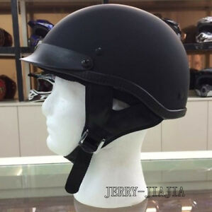 Motorcycle Helmet DOT Cruiser Open Face Cycling Half Helmet Retro Pilot ABS