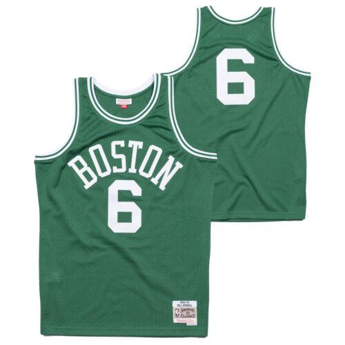 Swingman da Boston Celtics Road Bill uomo Hardwood Russell di Camicia Classics HCvwqH