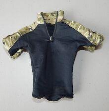 Sideshow Hot Toys G.I. Joe Roadblock Dwayne The Rock T-Shirt & Military 1/6 !!