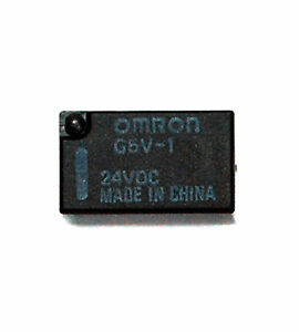 Details about 10pc Relay G5V-1 Coil= 24VDC Load=1A30VDC 0.5A125VAC on siemens relay wiring diagram, relay switch wiring diagram, alternator relay diagram, control relay wiring diagram, opto 22 relay wiring diagram, fuel pump relay wiring diagram, ac relay wiring diagram, chevy fuel pump wiring diagram, schneider relay wiring diagram, timer relay wiring diagram, power relay wiring diagram, single pole relay wiring diagram, panasonic relay wiring diagram, time delay relay wiring diagram, dpdt relay wiring diagram, 5 pole relay wiring diagram, basic relay wiring diagram, contactor wiring diagram, 8 pin relay wiring diagram, 5 pin relay wiring diagram,